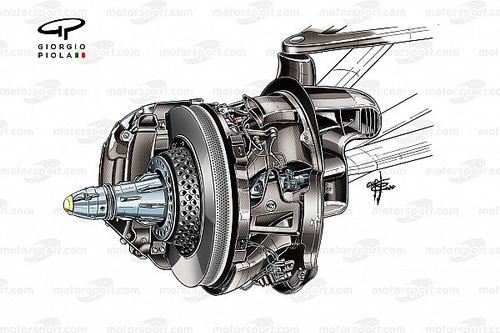 Hoe Mercedes het F1-remdesign naar een hoger niveau heeft getild