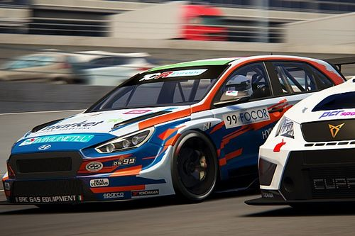 TCR Europe SIM Racing: BRC domina con Nagy le gare virtuali a Spa