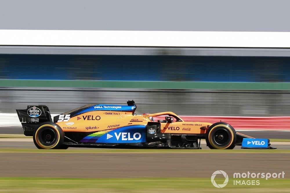 Sainz estrena chasis en Barcelona tras los problemas de Silverstone