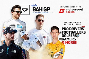 Motorsport Games与Veloce Esports共同呈现#NotTheGP