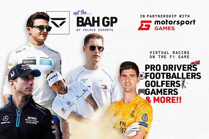 نوريس وهلكنبرغ ينضمّان إلى رياضيين آخرين في جائزة البحرين البديلة