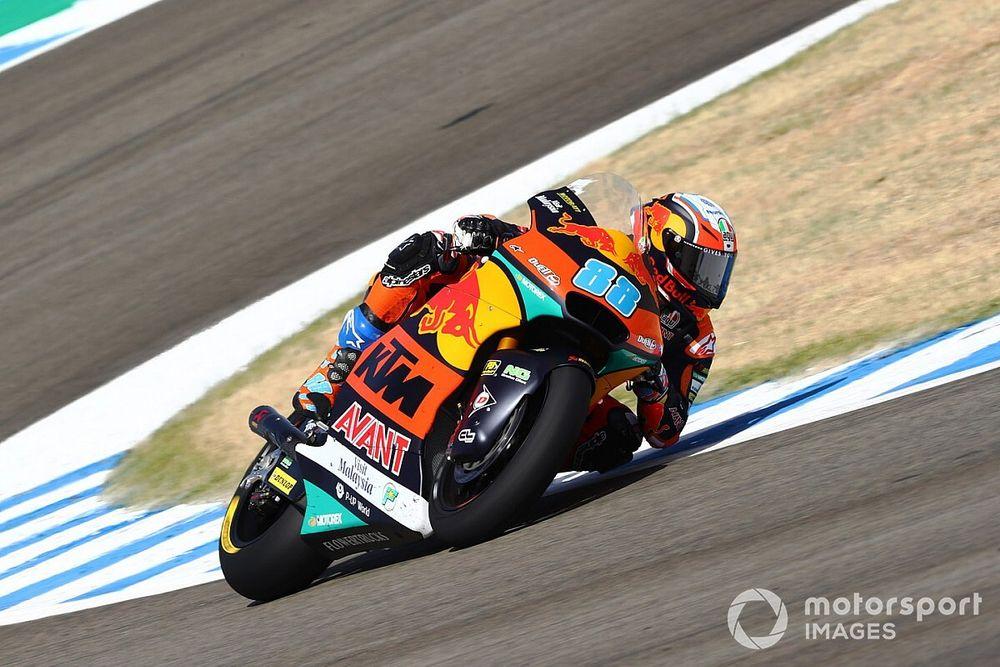 Moto2 Jerez: primera pole de Jorge Martín