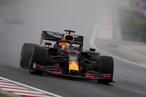 Verstappen crashes before Hungarian GP start