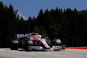 Pérez lidera la primera práctica para el GP de Estiria
