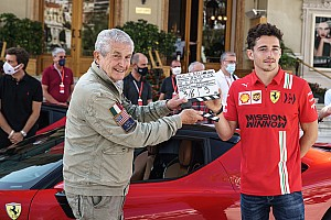 Fotogallery: Charles Leclerc attore a Monaco per Lelouch