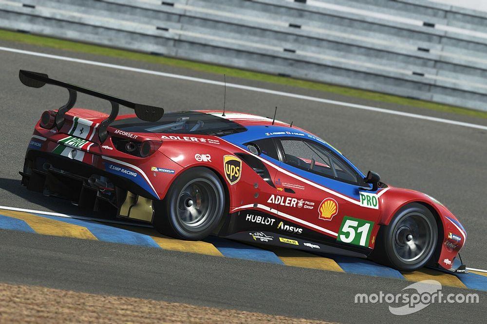 Leclerc y Giovinazzi correrán con Ferrari en Le Mans virtual