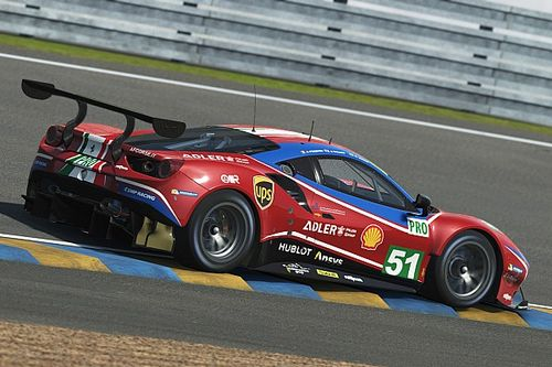 Leclerc, Giovinazzi to race Ferrari in Virtual Le Mans 24 Hours