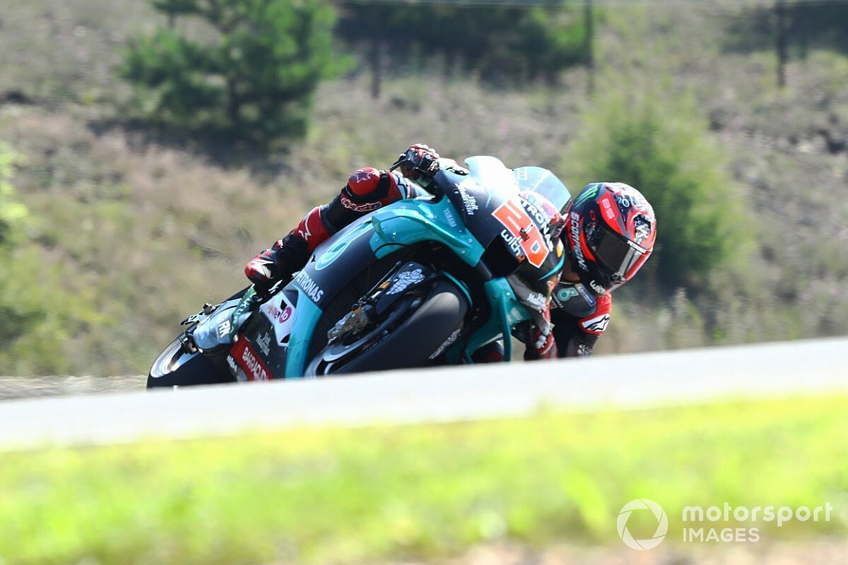 "Quartararo searching for solution to solve ""weird"" issue"