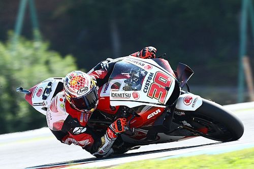 Brno MotoGP: Nakagami leads Mir in first practice