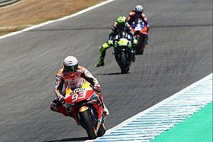 """Rossi over lange afwezigheid Marquez: """"We zijn menselijk"""""""