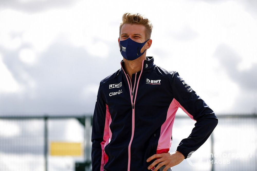 """Hulkenberg """"in talks"""" over full-time F1 role for 2021"""