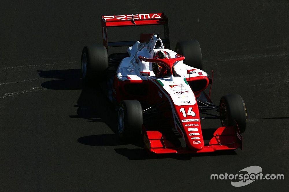 Formula Regional, Barcellona, Libere 1: Leclerc al comando