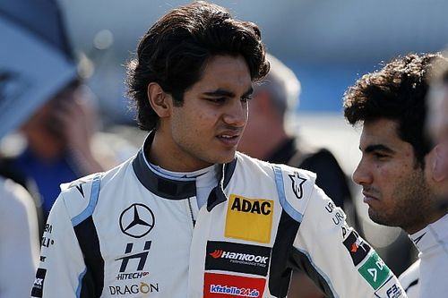 Ahmed loses ThreeBond Japanese F3 drive