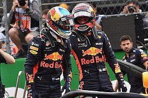 Ricciardo : Non, je n'ai pas fui Verstappen !