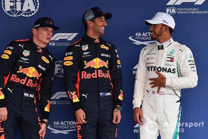 """Hamilton gioca in difesa: """"Le Red Bull sono superiori, debbo tenermi fuori dai guai"""""""
