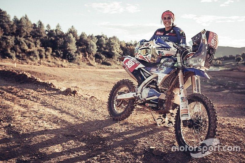 La 'espartana' del Dakar que busca hacer historia