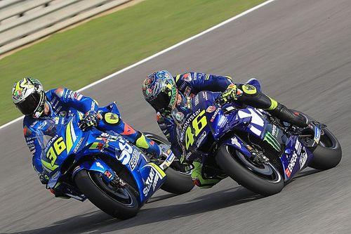 En progrès, Mir ne voit plus d'un bon œil d'avoir Rossi devant lui