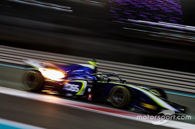 F2季后测试:德莱特拉兹设下标杆,周冠宇第五快