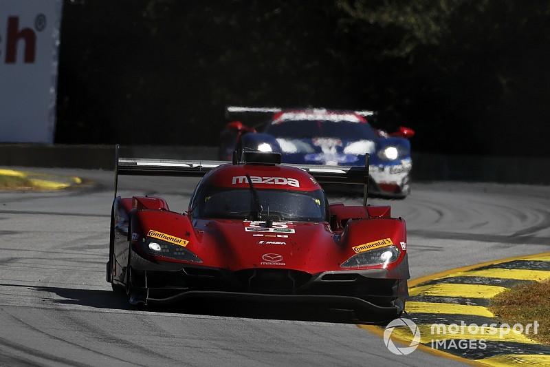 Mazda manda en la primera práctica y Alonso en segundo