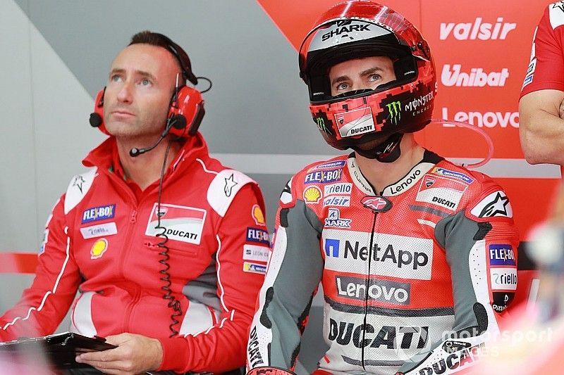 Ducati confirma que Lorenzo será baja en Australia