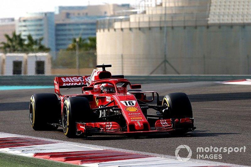 Leclerc ends Abu Dhabi test on top for Ferrari