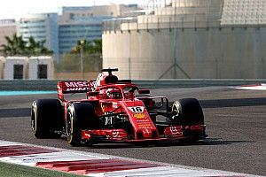 Leclerc ends Abu Dhabi test on top for Ferrari