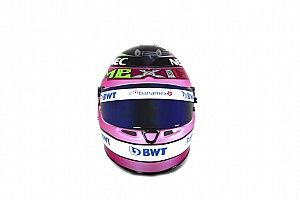 GALERÍA: el casco de Pérez para el GP de México