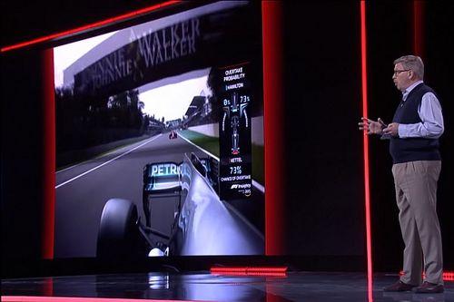La F1 planea tener en 2019 gráficos de TV que usen inteligencia artificial