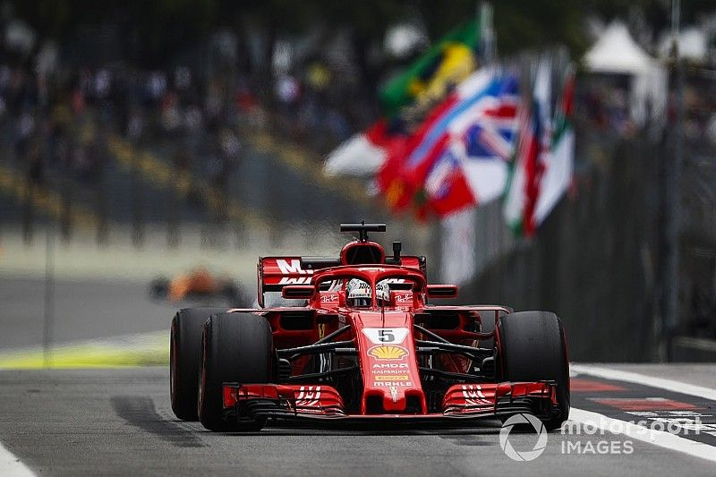 Vettel gets reprimand, heavy fine for weighbridge offence