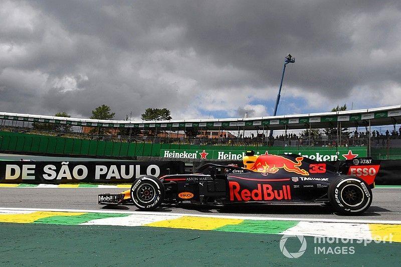 Red Bull, Ferrari y Mercedes, en una décima tras los libres 1 de Brasil