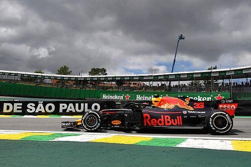 Verstappen lidera una apretada primera práctica en Interlagos