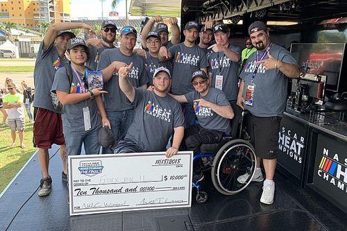 Hunter Mullins wins NASCAR Heat Champions Road To Miami Finals