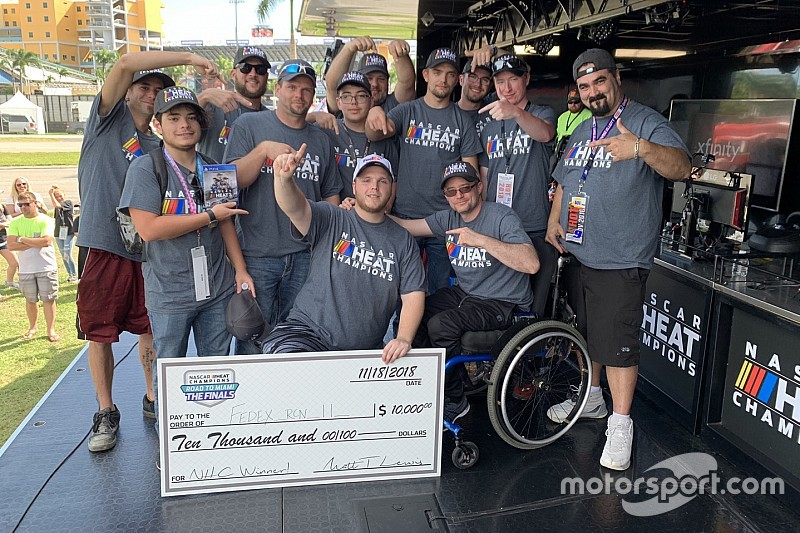 Hunter Mullins wins NASCAR Heat Champions Road To Miami Finals
