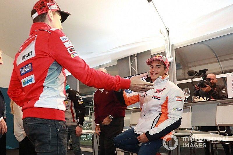 """Márquez: """"Con Lorenzo no viviremos un enfrentamiento como el de Prost y Senna"""""""