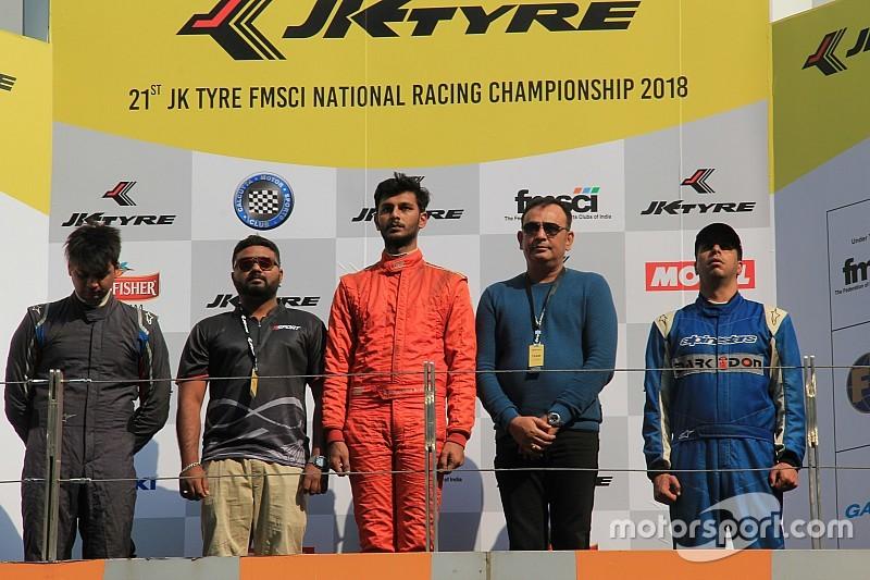 Rangasamy usurps Prasad to win JK Tyre Formula LGB title