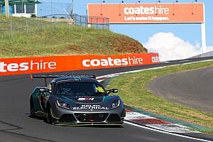 Lotus driver uninjured in 44G Bathurst shunt