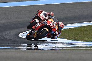 """Marquez: """"Con queste moto è difficile cadere come ha fatto Lorenzo"""""""