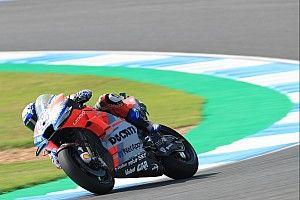 FP4 MotoGP Thailand: Dovizioso dominan, duo Yamaha 3-4
