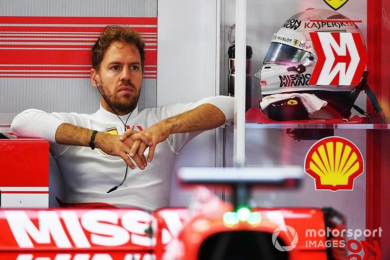 Феттель пришел в боксы Mercedes после гонки: видео