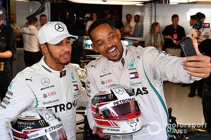 """Hamilton pudo correr en Abu Dhabi, pese al intento de """"secuestro"""" de Will Smith"""