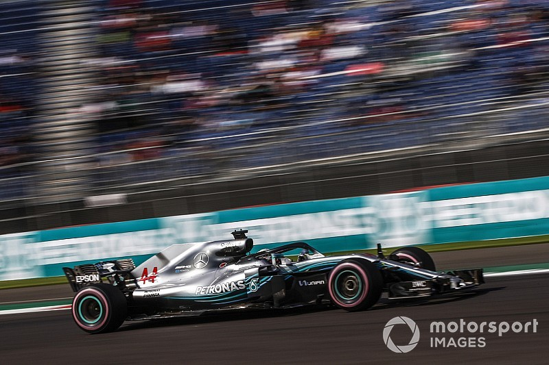 Mercedes had to protect overheating engine in practice