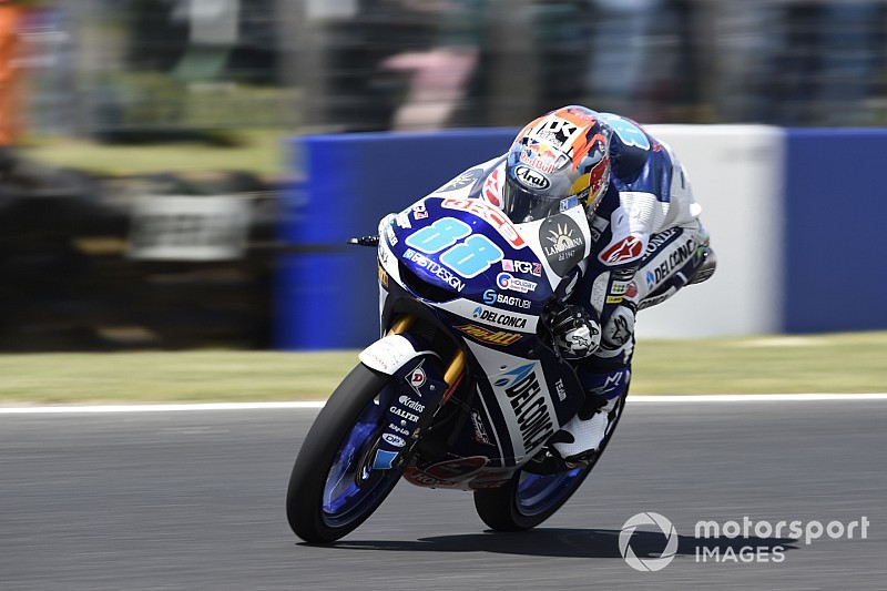 Moto3 Phillip Island: Martin pakt tiende pole in bloedstollende kwalificatie