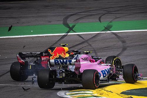 "Verstappen blasts ""idiot"" Ocon after crash"