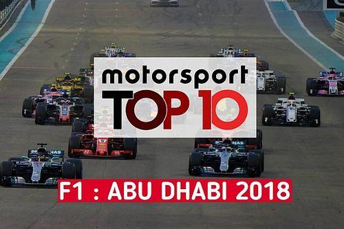 Vidéo - Les 10 faits marquants du GP d'Abu Dhabi
