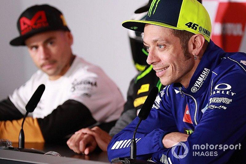 """Après sa """"meilleure course"""" de 2018, Rossi veut poursuivre sur la même voie"""