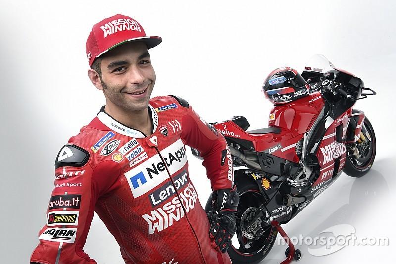 Petrucci nega pressa para buscar renovação com Ducati para 2020