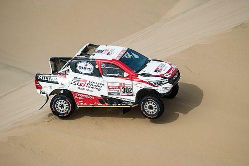 Alonso a Toyota Dakar-autóját teszteli Dél-Afrikában