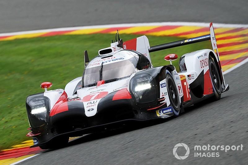 El Toyota #7 se lleva la pole de Spa por delante de un #8 sin Alonso