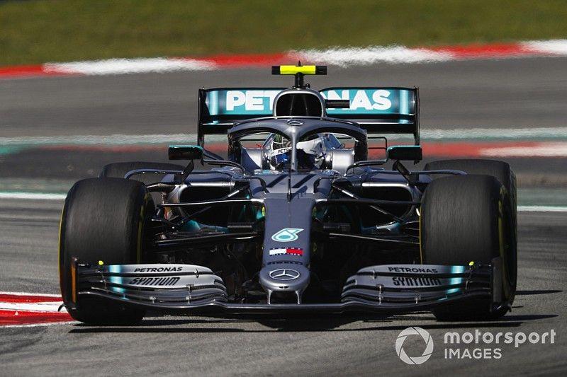 Spanish GP: Bottas leads Mercedes 1-2 in second practice