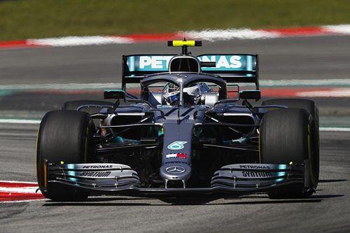 İspanya GP 2. antrenman: Bottas yine lider, Mercedes 1-2!